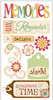 Memories Stickers - Essentials By Sandylion