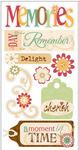 Memories Stickers - Essentials By Sandylion