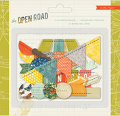 The Open Road Stitched Borders - Crate Paper
