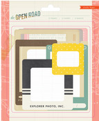 The Open Road Chipboard Frames - Crate Paper
