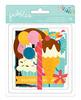 Birthday Wishes Die - cut Chipboard Shapes - Pebbles