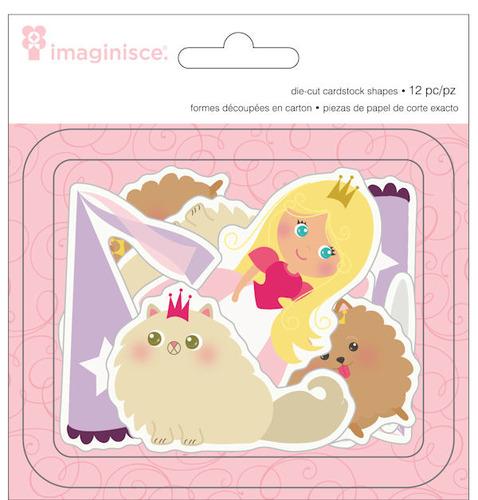 Little Princess Die - cut Cardstock Shapes 2