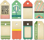 Everyday Circus Small Decorative Tags - Fancy Pants