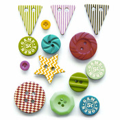 Everyday Circus Button Set - Fancy Pants