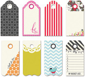 Me - ology Small Decorative Tags - Fancy Pants