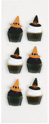 Witch Cupcakes Mini Stickers - Little B