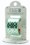 Silver Honeycomb Foil Decorative Paper Tape - Little B