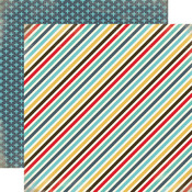 Boy Stripe Paper - Boy Oh Boy - Carta Bella
