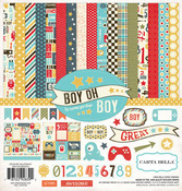 Boy Oh Boy Collection Kit - Carta Bella