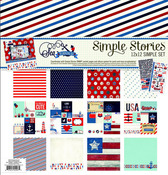 Sea To Shining Sea Collection Kit - Simple Stories