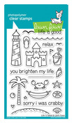Life Is Good Clear Stamps - Lawn Fawn