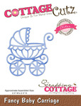 Fancy Baby Carriage Elites Die - Cottage Cutz