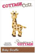 Baby Giraffe Metal Die - Cottage Cutz