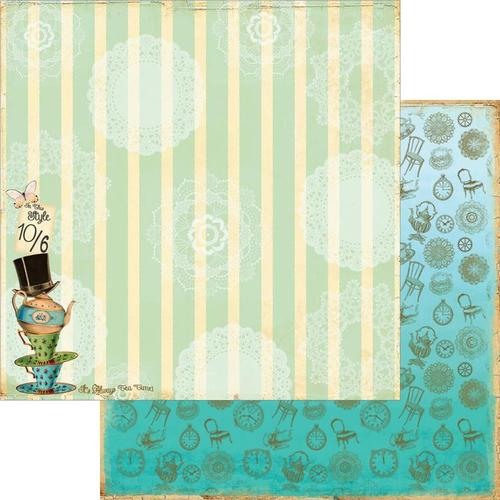 Tea Party Paper - Mad Tea Party - Marion Smith Designs