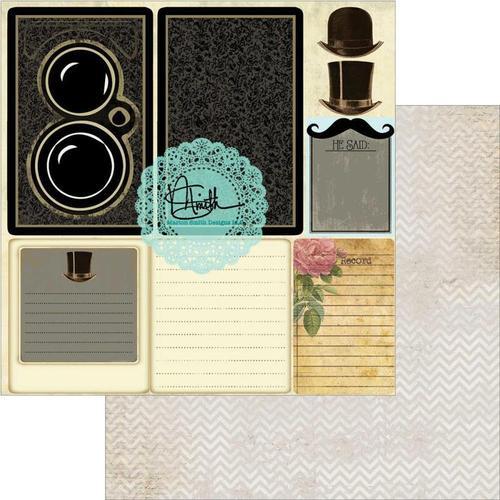 He Said Paper - Garment District - Marion Smith Designs
