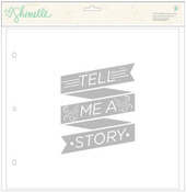 Shimelle 12 x 12 Page Overlays - American Crafts