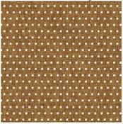 White Dot Burlap Sheet - Home + Made - Pebbles