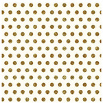 Gold Dot Glitter Paper - Home + Made - Pebbles