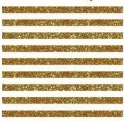 Gold Stripe Glitter Paper - Home + Made - Pebbles