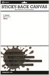 White Sticky - Back Canvas 8.5 x 11 Sheets