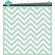 Chevron Mixed Media 12 x 12 Stencil - Heidi Swapp