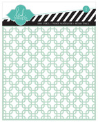 Square Lattice 6 x 6 Stencil - Heidi Swapp