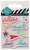 Brilliant Mixed Media Clear Mini Stamps - Heidi Swapp