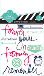 Remember Mixed Media Clear Mini Stamps - Heidi Swapp