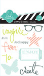 Inspire Mixed Media Clear Mini Stamps - Heidi Swapp