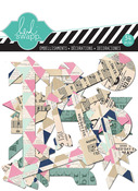Arrows Clear Pop Embellishments - Hello Today - Heidi Swapp