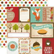Journaling Card Paper - I Heart Fall - Echo Park