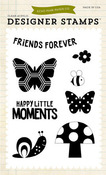 Happy Little Moments Clear Stamps - Fine & Dandy - Echo Park