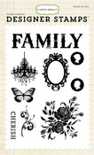 Celebrate Family Clear Stamps - Moments & Memories - Carta Bella