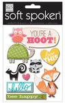 You're A Hoot Soft Spoken Embellishments - Me And My Big Ideas