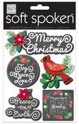 Ellen Merry Christmas Soft Spoken Embellishments - Me And My Big Ideas