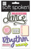 Love Dance Soft Spoken Embellishments - Me And My Big Ideas