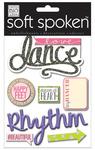 Love Dance Soft Spoken Embellishments - Me And My Big Ideas