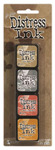 Kit 7 Distress Mini Ink Pads - Tim Holtz