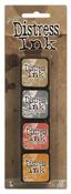 Kit 7 Distress Mini Ink Pads - Tim Holtz