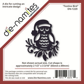 Festive Bird Metal Die - Die - namites