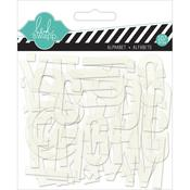 Clear Pop Acrylic Alphabet - Heidi Swapp