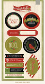 Sleigh Bells Ring 6x12 Sticker Labels - My Minds Eye