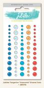 Awesome Enamel Dots - Tangerine - Jubilee - My Minds Eye