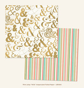 Ampersand Foil Paper - Wild - Mint Julep - Jubilee - My Minds Eye