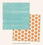 Arrow Paper - Awesome - Tangerine - Jubilee - My Minds Eye