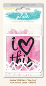 Hey You 3 x 4 Journal Cards - Wild Berry - Jubilee - My Minds Eye