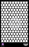 Honeycomb 6.5x10.25 Stencil - Finnabair - Prima