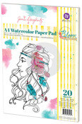 Water Color A4 Paper Pad - Bloom - Prima