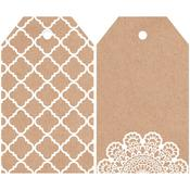 Lacy 2 x 3.24 Mix & Match Tags - KaiserCraft