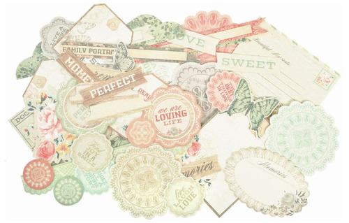 Rustic Harmony Collectables Cardstock Die Cuts - KaiserCraft
